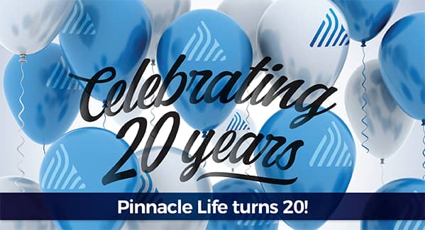 Celebrate our birthday - 20 years!