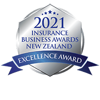 Excellence Award - Best Digital Strategy Insurer/Underwriting Agency (2021 Insurance Business Awards NZ)